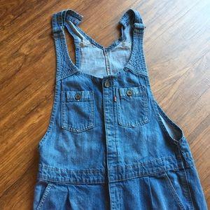 Levi's denim jumpsuit size large